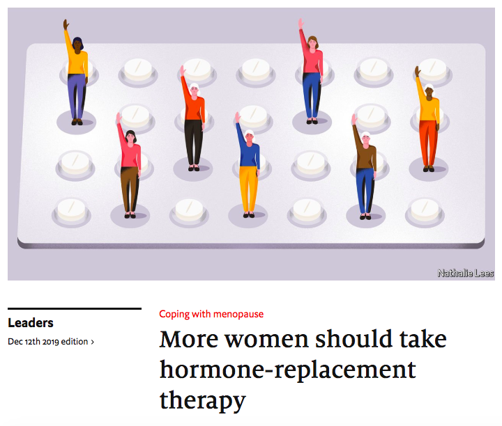 Article Economist Plus de femmes devraient être sous THM