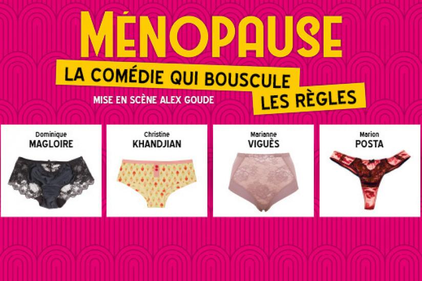 Comédie Musicale Ménopause Theâtre Madeleine