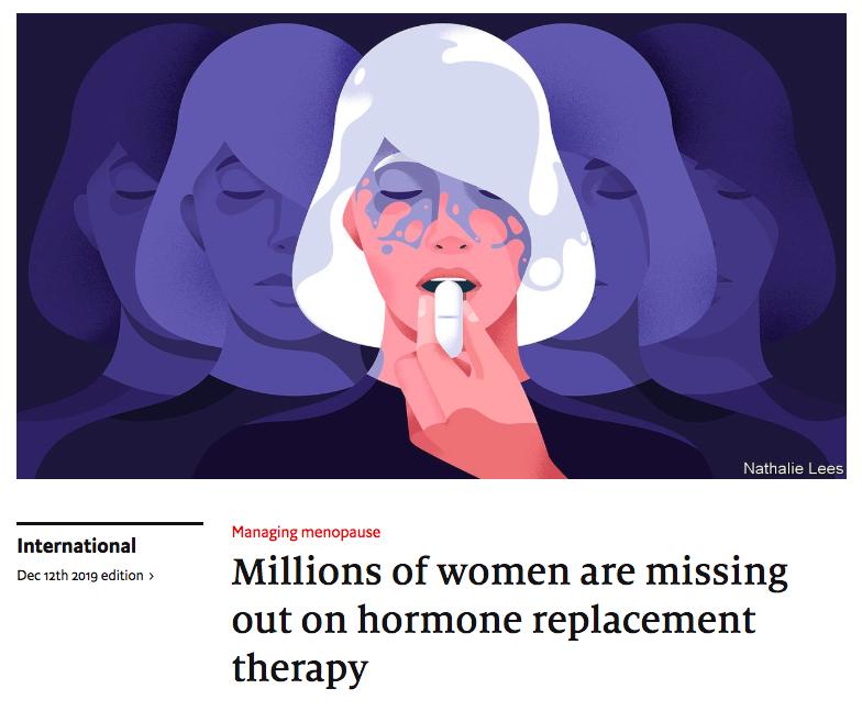 """The Economist """" Des millions de femmes passent à côté du THM"""""""